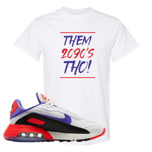 Air Max 2090 Evolution Of Icons T Shirt | Them 2090's Tho, White