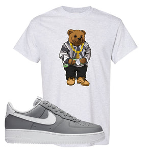 Air Force 1 Low Wolf Grey White T Shirt | Ash, Sweater Bear