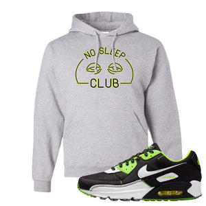 Air Max 90 Exeter Edition Black Hoodie | No Sleep Club, Ash