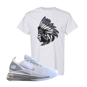 Air Max 720 Utility White T Shirt | Ash, Indian Chief