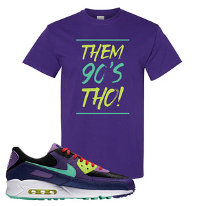 Air Max 90 Cheetah T Shirt | Them 90's Tho, Purple