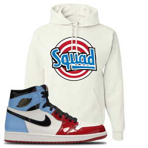 Air Jordan 1 Fearless Squad White Made to Match Pullover Hoodie