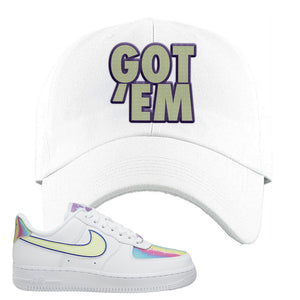 Air Force 1 Low Easter Dad Hat | White, Got Em