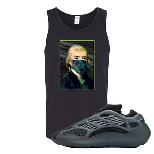 Yeezy 700 v3 Alvah Tank Top | Black, Jefferson Mask