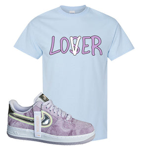 Air Force 1 P[her]spective T Shirt | Light Blue, Lover