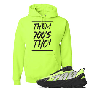 Yeezy 700 MNVN Phosphor Hoodie | Them 700's Tho, Safety Green