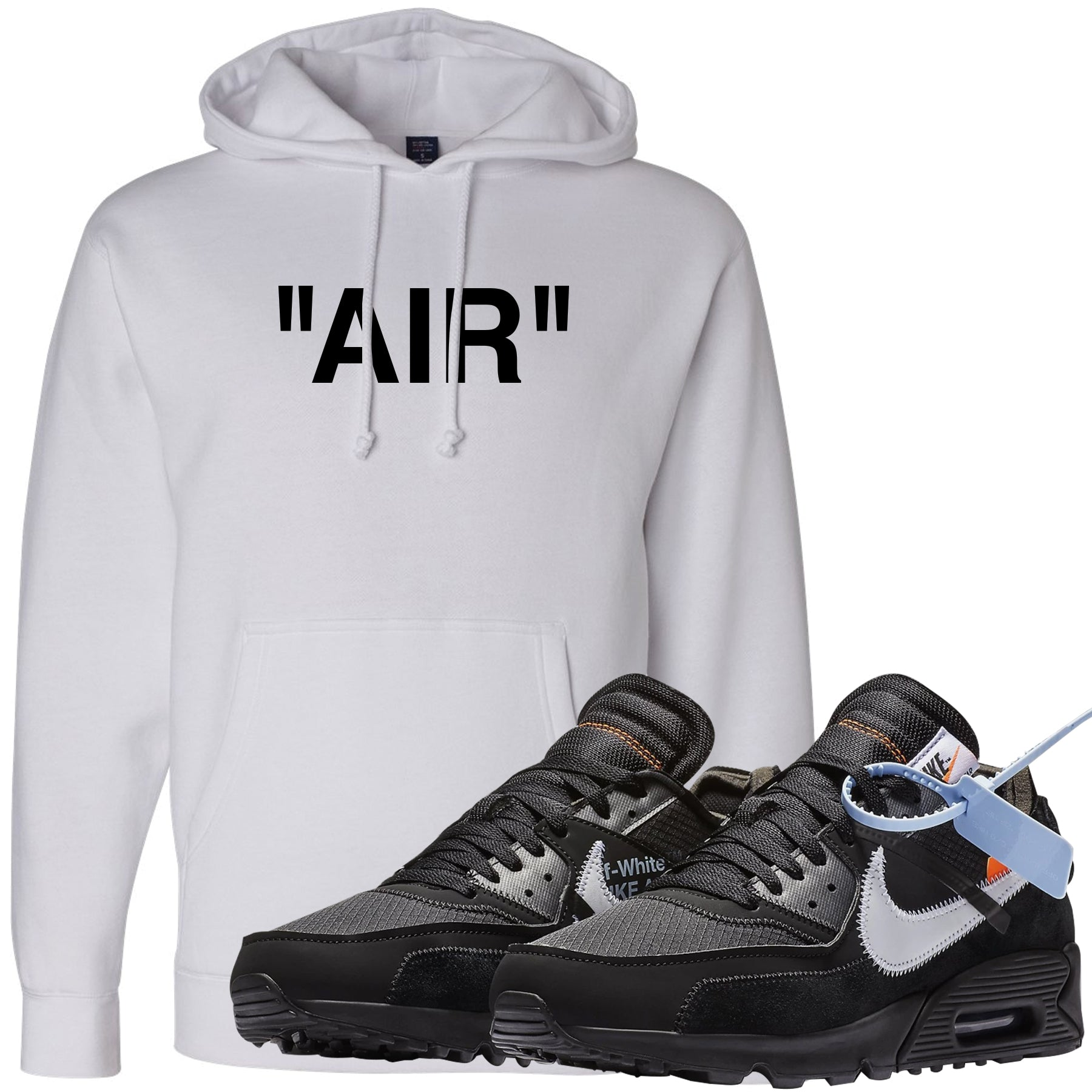pretty nice 0c881 ecd1d Wear your Nike Air Max 90 OFF-WHITE Black sneakers with this OFF-WHITE