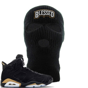 Jordan 6 DMP 2020 Ski Mask | Black, Blessed Arch