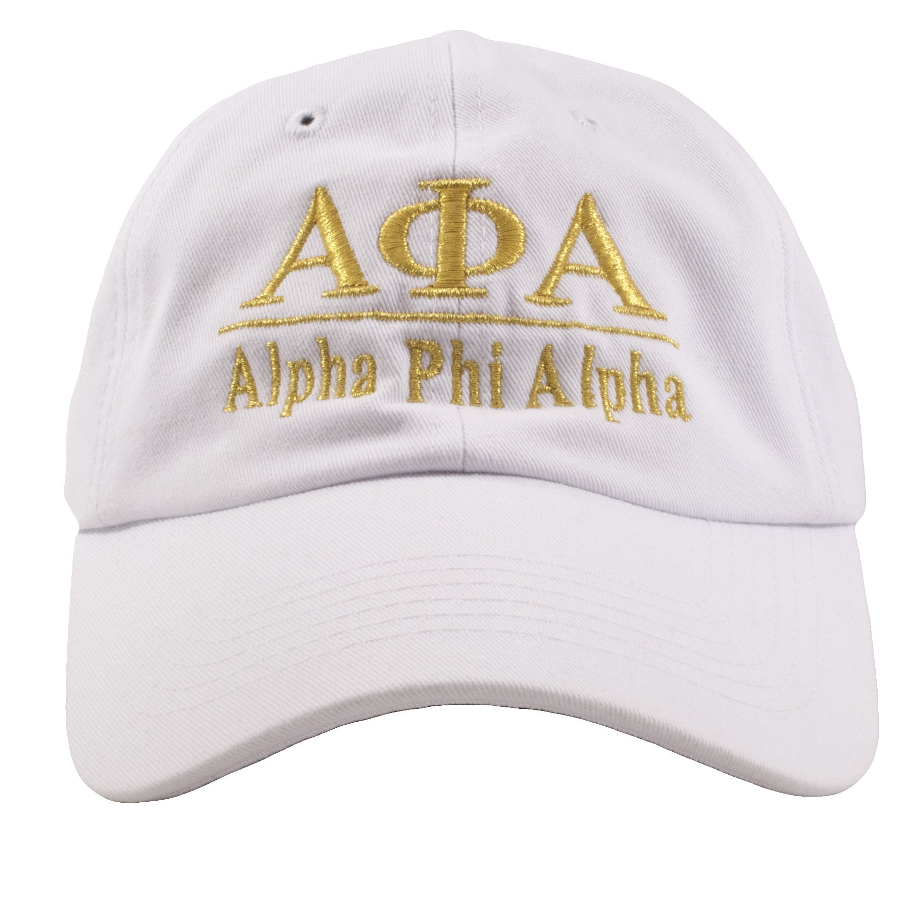 embroidered on the front of the alpha phi alpha fraternity dad hat is the alpha  phi 1c859b3f949