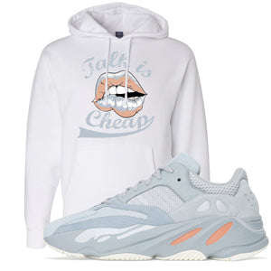 Yeezy Boost 700 Inertia Hoodie | White, Talk Is Cheap