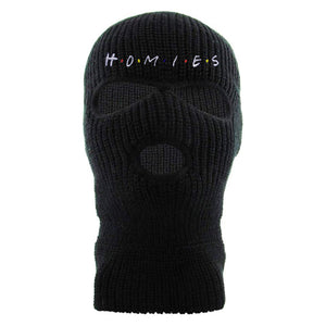 Homies Black 3 Hole Ski Mask