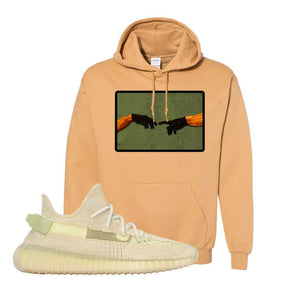 Yeezy 350 v2 Sulfur Hoodie | Old Gold, Creation