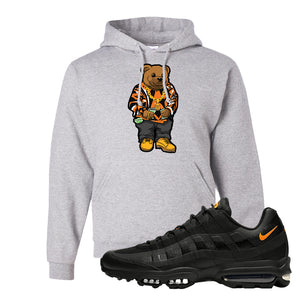 Air Max 95 Ultra Spooky Halloween Pullover Hoodie | Sweater Bear, Ash