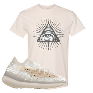Yeezy Boost 380 'Pepper' T Shirt | Natural, All Seeing Eye