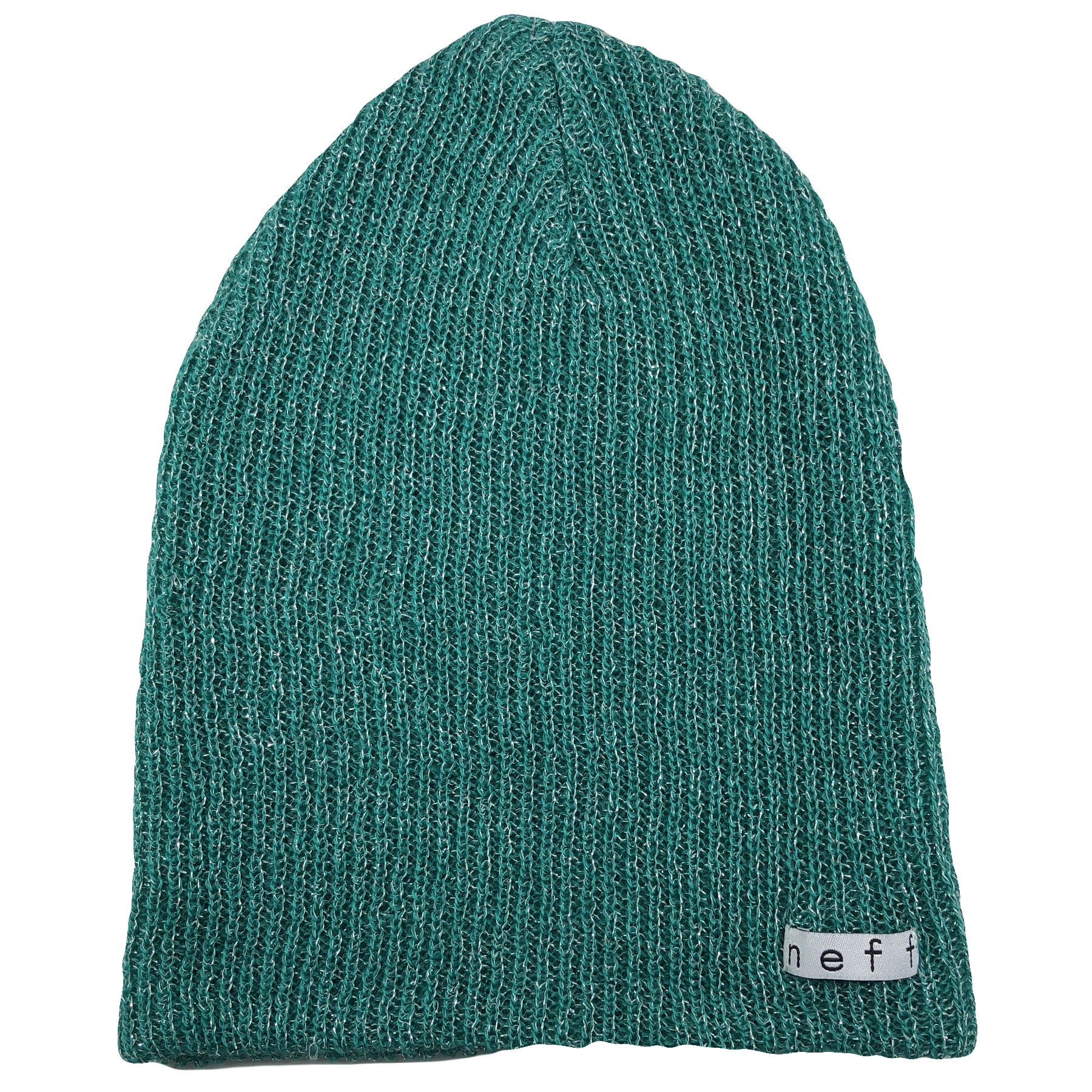 9239affecca the neff daily teal beanie is a teal color and features a neff label in  white