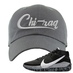 KD 13 Oreo Dad Hat | Chiraq, Dark Gray
