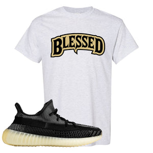 Yeezy Boost 350 v2 Carbon T Shirt | Blessed Arch, Ash