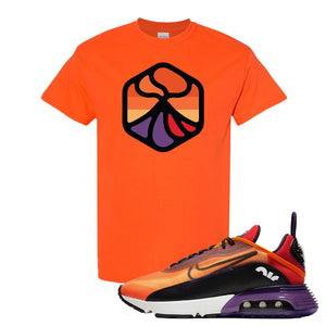 Air Max 2090 Magma Orange T Shirt | Orange, Volcano 1