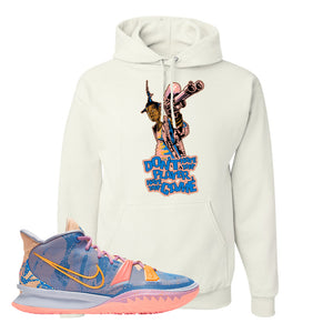 Kyrie 7 Expressions Hoodie | Dont Hate The Playa, White