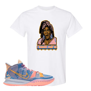 Kyrie 7 Expressions T-Shirt | Oh My Goodness, White