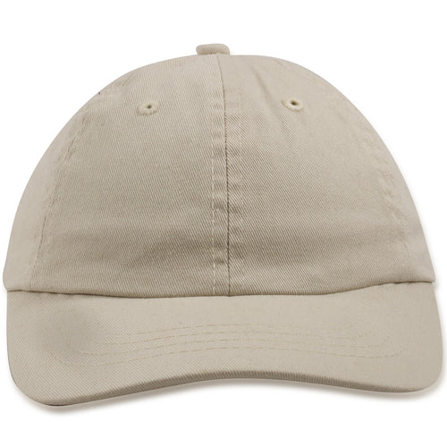 Blank Ivory Kid's Adjustable Baseball Cap