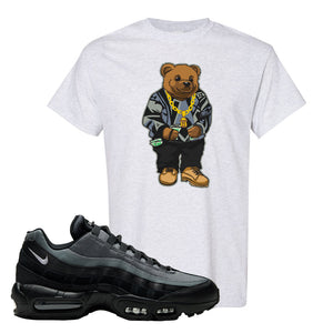 Air Max 95 Black Smoke Grey T Shirt | Sweater Bear, Ash