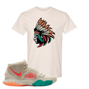 Kyrie 6 N7 T Shirt | Natural, Indian Chief
