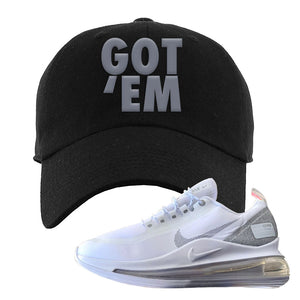 Air Max 720 Utility White Dad Hat | Black, Got Em