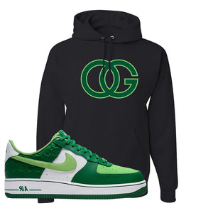 Air Force 1 Low St. Patrick's Day 2021 Hoodie | OG, Black