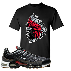 Air Max Plus Remix Pack T Shirt | Indian Chief, Black