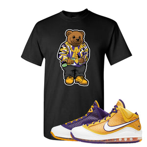 Lebron 7 'Media Day' T Shirt | Black, Sweater Bear
