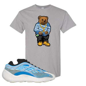 Yeezy 700 v3 Azareth T Shirt | Gravel, Sweater Bear
