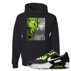 Air Max 90 Exeter Edition Black Hoodie | Miguel, Black