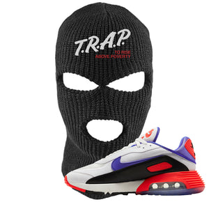 Air Max 2090 Evolution Of Icons Ski Mask | Trap To Rise Above Poverty, Black
