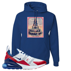 Air Max 270 USA Hoodie | Royal Blue, Capitalism Pyramid