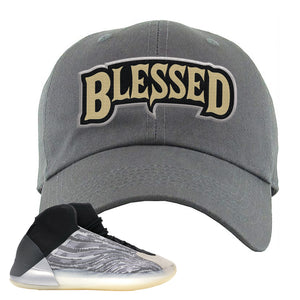 Yeezy Quantum Dad Hat | Dark Gray, Blessed Arch