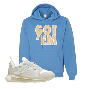 Air Max 720 OBJ Slip White Hoodie | California Blue, Got Em