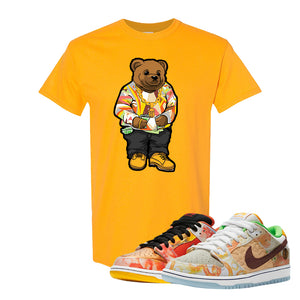 SB Dunk Low Street Hawker T Shirt | Sweater Bear, Gold