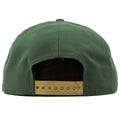 The back shows a golden adjustable snap of this Green Bay Packers hat