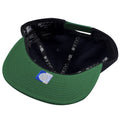 the under brim of notre dame fighting snapback hat
