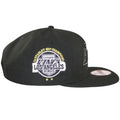 on the right side of the los angeles kings 2x stanley cup champions snapback hat is the los angeles kings 2x stanley cup champions patch
