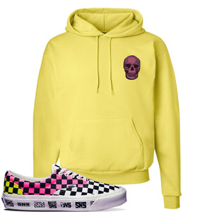 Vans Era Venice Beach Pack Hoodie | Yellow, Skull
