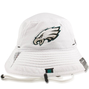 Philadelphia Eagles 2019 Training Camp White Training Bucket Hat