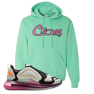 Air Max 720 WMNS Black Fossil Sneaker Cool Mint Pullover Hoodie | Hoodie to match Nike Air Max 720 WMNS Black Fossil Shoes | Chiraq