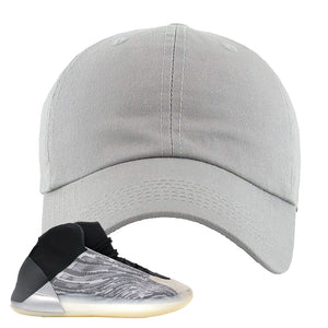 Yeezy Quantum Dad Hat | Light Gray, BLANK