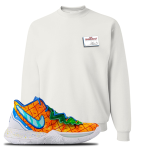 Kyrie 5 Pineapple House Crewneck Sweatshirt | White, Rick