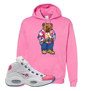 Question Mid Pink Toe Hoodie | Sweater Bear, Azalea