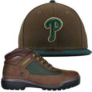 Philadelphia Phillies Beef and Broccoli Timberland Boot Sneaker Hook Up 9FIFTY Snapback Hat