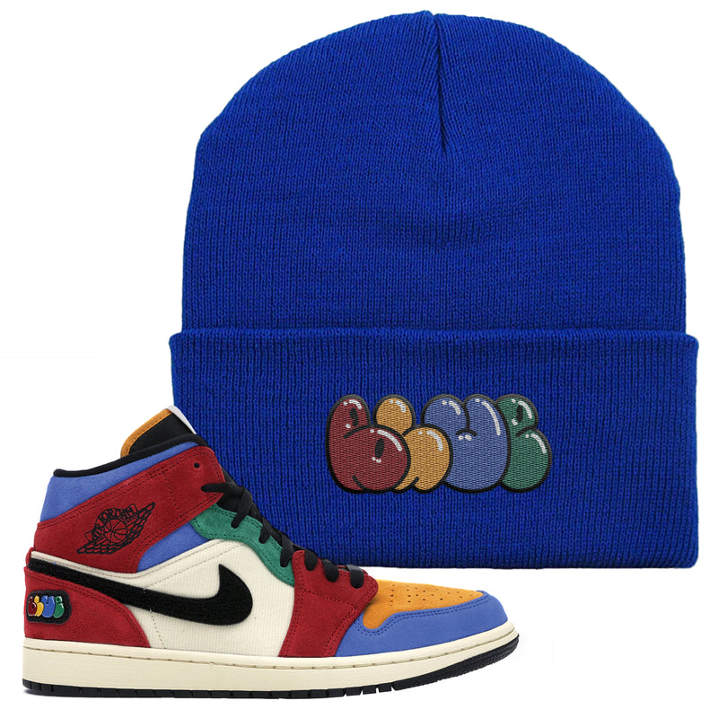 Jordan 1 X Blue The Great Beanie | Royal Blue, Blue