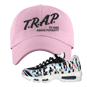 Air Max 95 Korea Tiger Stripe Dad Hat | Light Pink, Trap To Rise Above Poverty